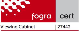 FOGRA ISO 3664 Cert
